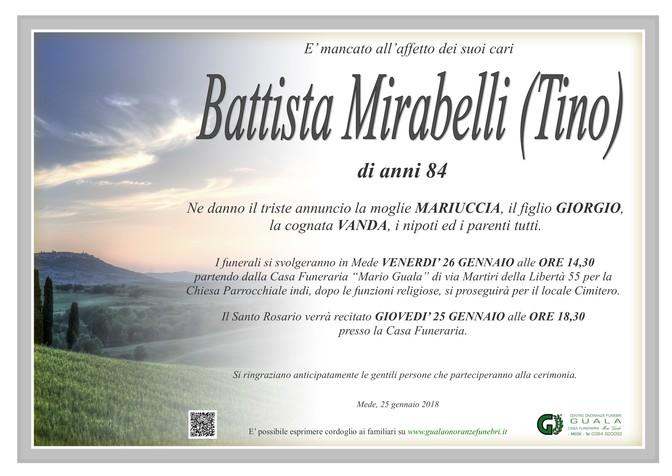 Necrologio di Battista Mirabelli