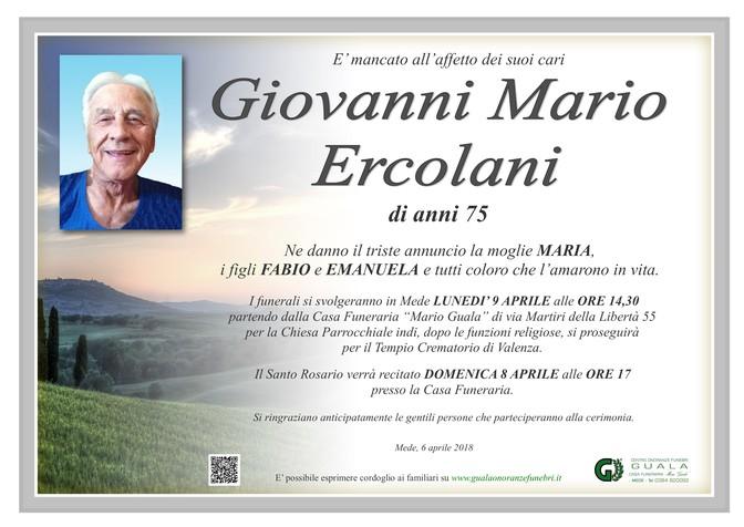 Necrologio di Giovanni Mario Ercolani