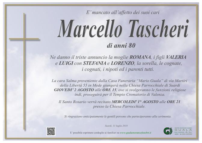 Necrologio di Marcello Tascheri