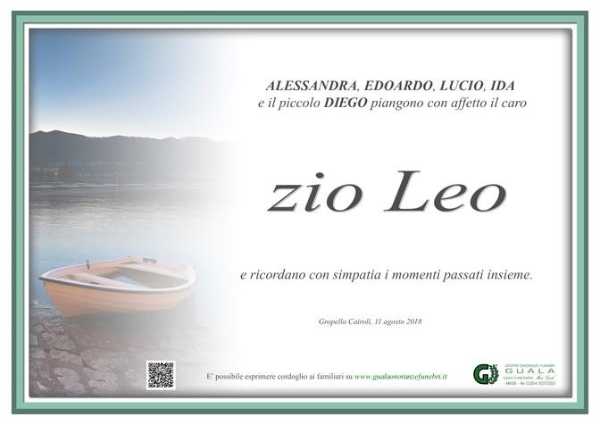 Ringraziamento per Dott. Angelo Leoni