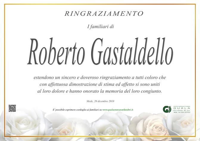 Ringraziamento per Roberto Gastaldello