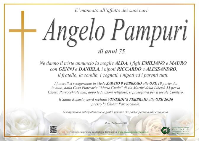 Necrologio di Angelo Pampuri