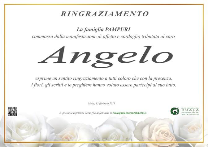 Ringraziamenti per Angelo Pampuri
