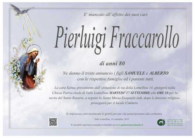 Necrologio di Pierluigi Fraccarollo