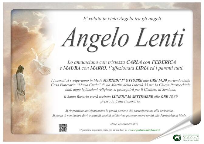 Necrologio di Angelo Lenti