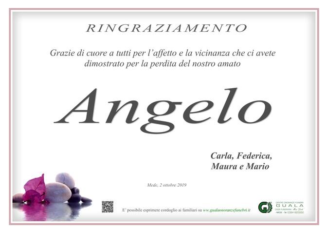 Ringraziamento per Angelo Lenti