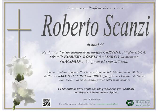 Necrologio di Roberto Scanzi