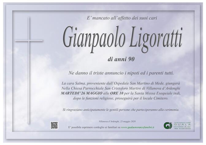 Necrologio di Gianpaolo Ligoratti
