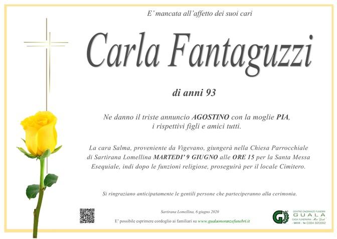 Necrologio di Carla Fantaguzzi