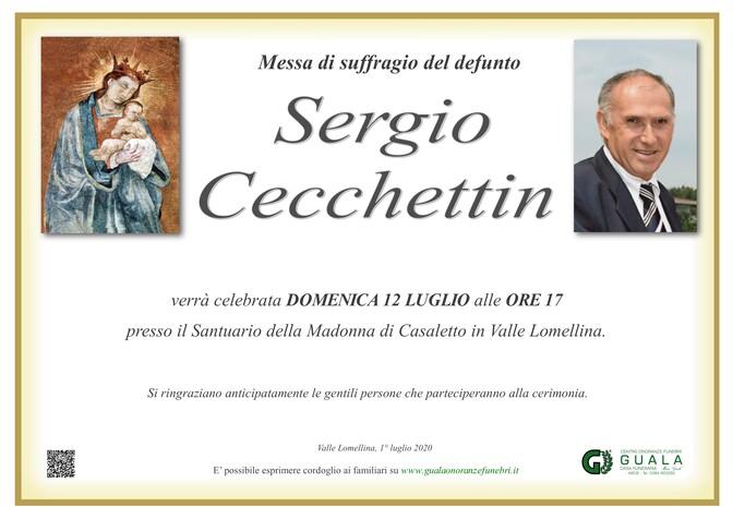 Ringraziamenti per Sergio Cecchettin