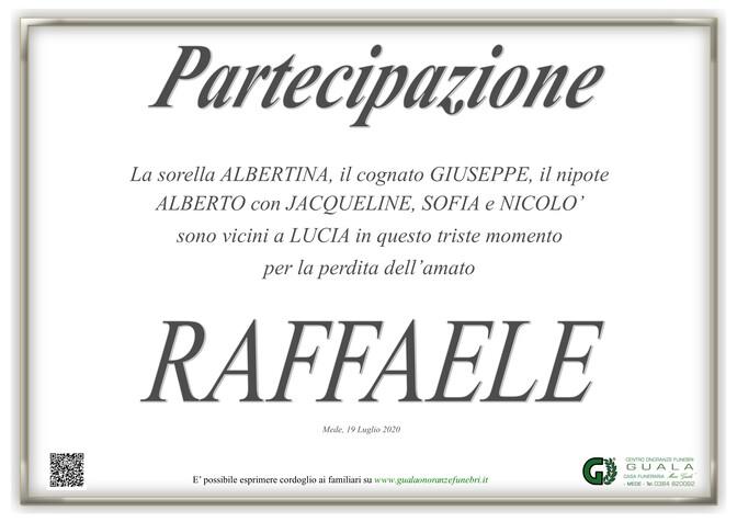Necrologio di Raffaele Marangoni