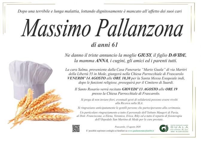 Necrologio di Massimo Pallanzona