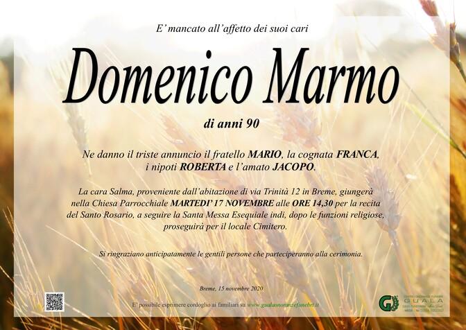 Necrologio di Domenico Marmo