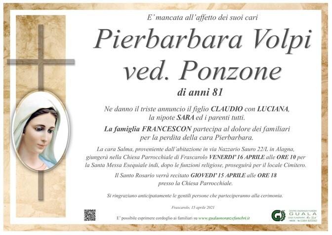 Ringraziamenti per Enrico Ponzone e Pierbarbara Volpi