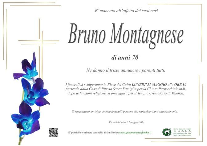 Necrologio di Bruno Montagnese