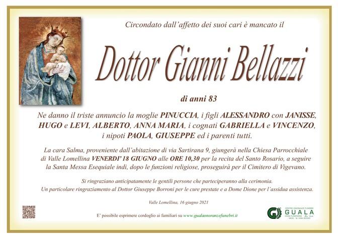 Necrologio di Dottor Gianni Bellazzi