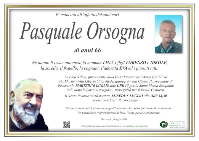 Necrologio di Pasquale Orsogna