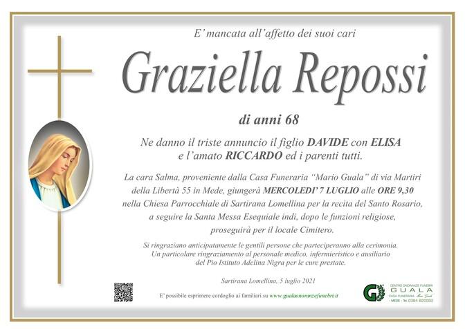 Necrologio di Graziella Repossi