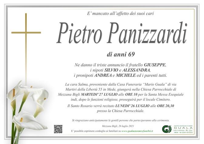 Necrologio di Pietro Panizzardi