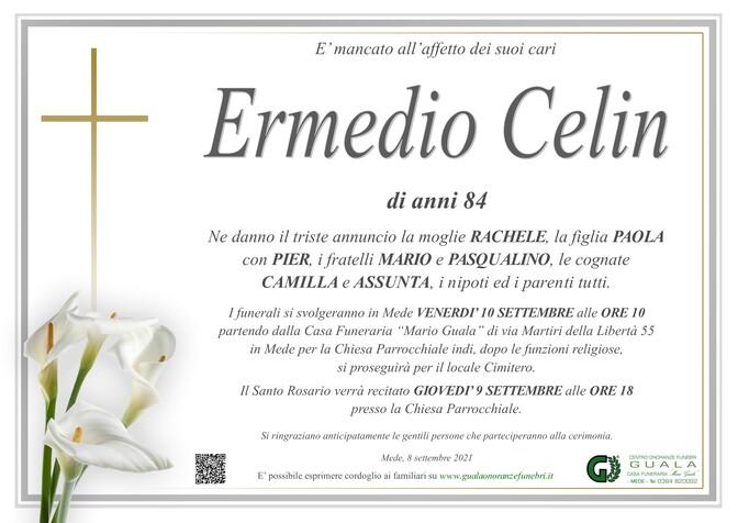 Necrologio di Ermedio Celin