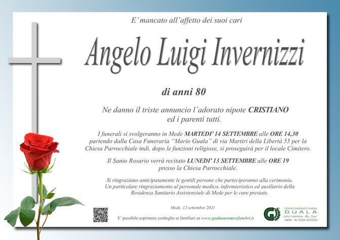 Necrologio di Angelo Luigi Invernizzi