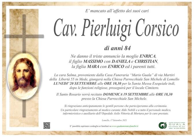 Necrologio di Cav. Pierluigi Corsico