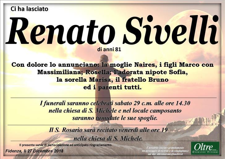 Necrologio di Renato Sivelli