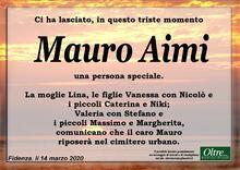 Necrologio di Mauro Aimi