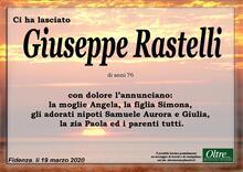 Necrologio di Giuseppe Rastelli
