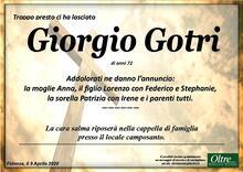 Necrologio di Giorgio Gotri
