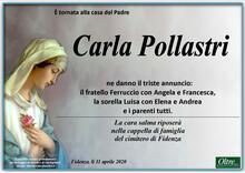 Necrologio di Carla Pollastri