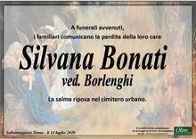 Necrologio di Silvana Bonati ved. Borlenghi