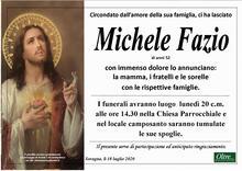Necrologio di Michele Fazio