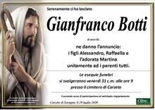 Necrologio di Gianfranco Botti