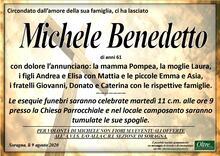 Necrologio di Michele Benedetto