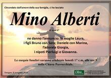 Necrologio di Mino Alberti