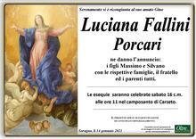 Necrologio di Luciana Fallini Porcari