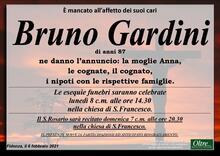 Necrologio di Bruno Gardini