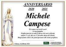 Necrologio di Michele Campese