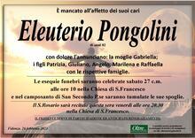 Necrologio di Eleuterio Pongolini