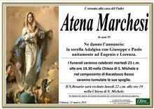 Necrologio di Atena Marchesi