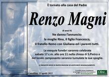Necrologio di Renzo Magni
