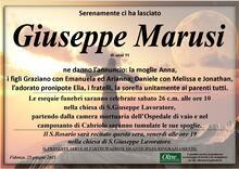 Necrologio di Giuseppe Marusi