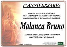 Necrologio di Bruno Malanca