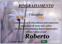 Ringraziamento per Roberto Besagni