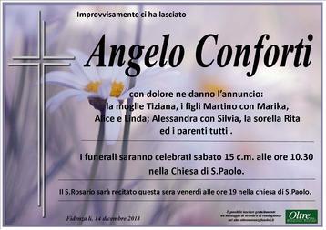 Necrologio di Conforti Angelo