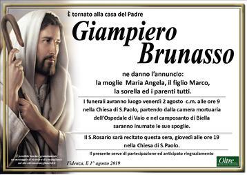 Necrologio di Giampiero Brunasso
