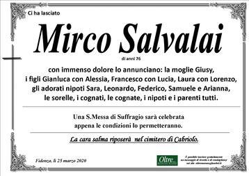 Necrologio di Mirco Salvalai