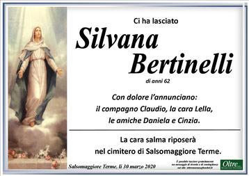 Necrologio di Silvana Bertinelli