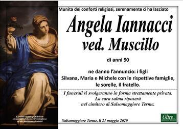 Necrologio di Angela Iannacci ved. Muscillo